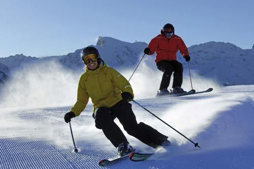 瑞士滑雪场1
