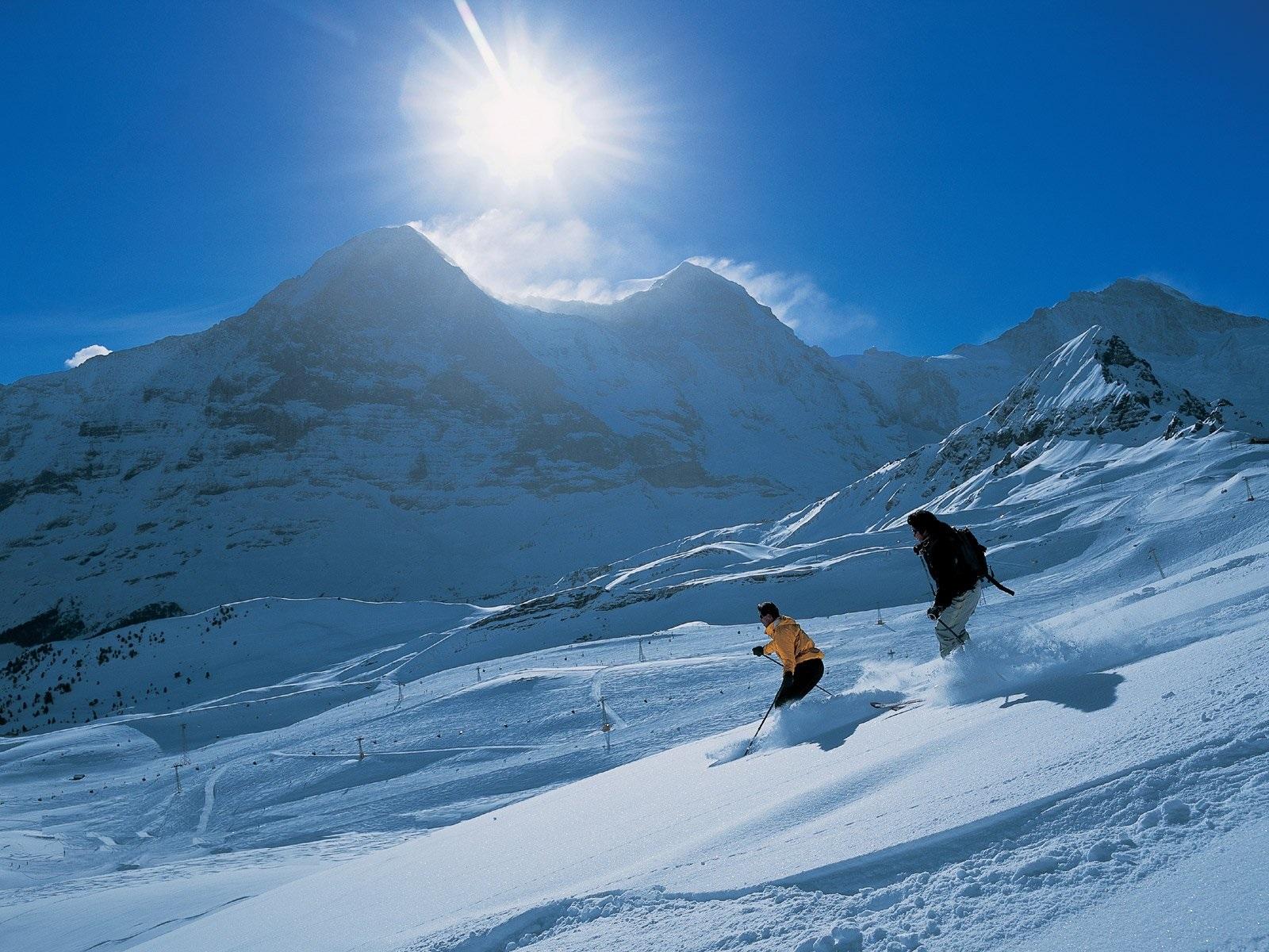 瑞士-滑雪