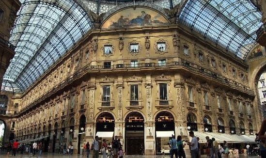 米兰购物街