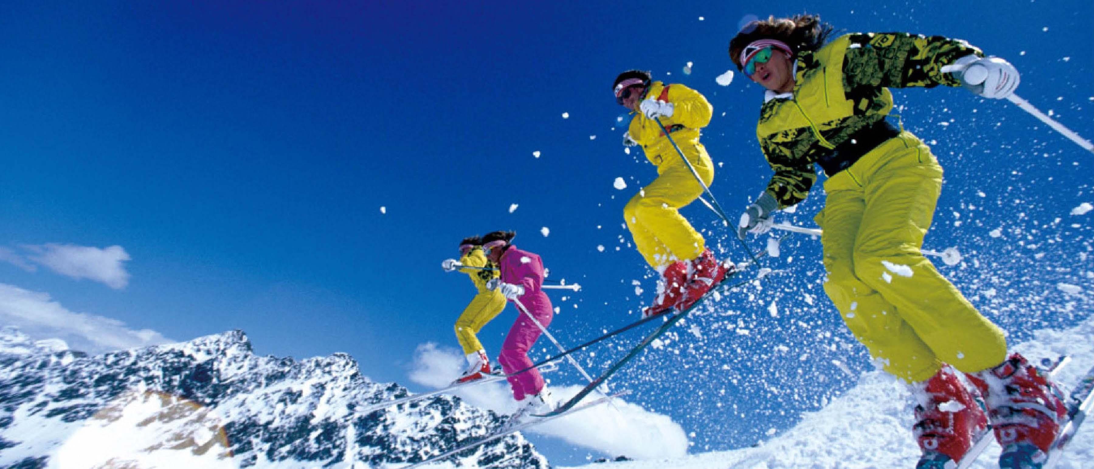 霞慕尼滑雪场
