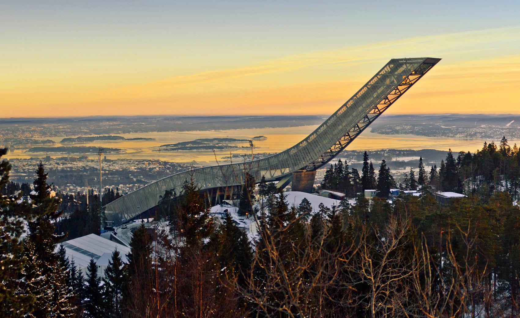 挪威霍尔门考伦山3