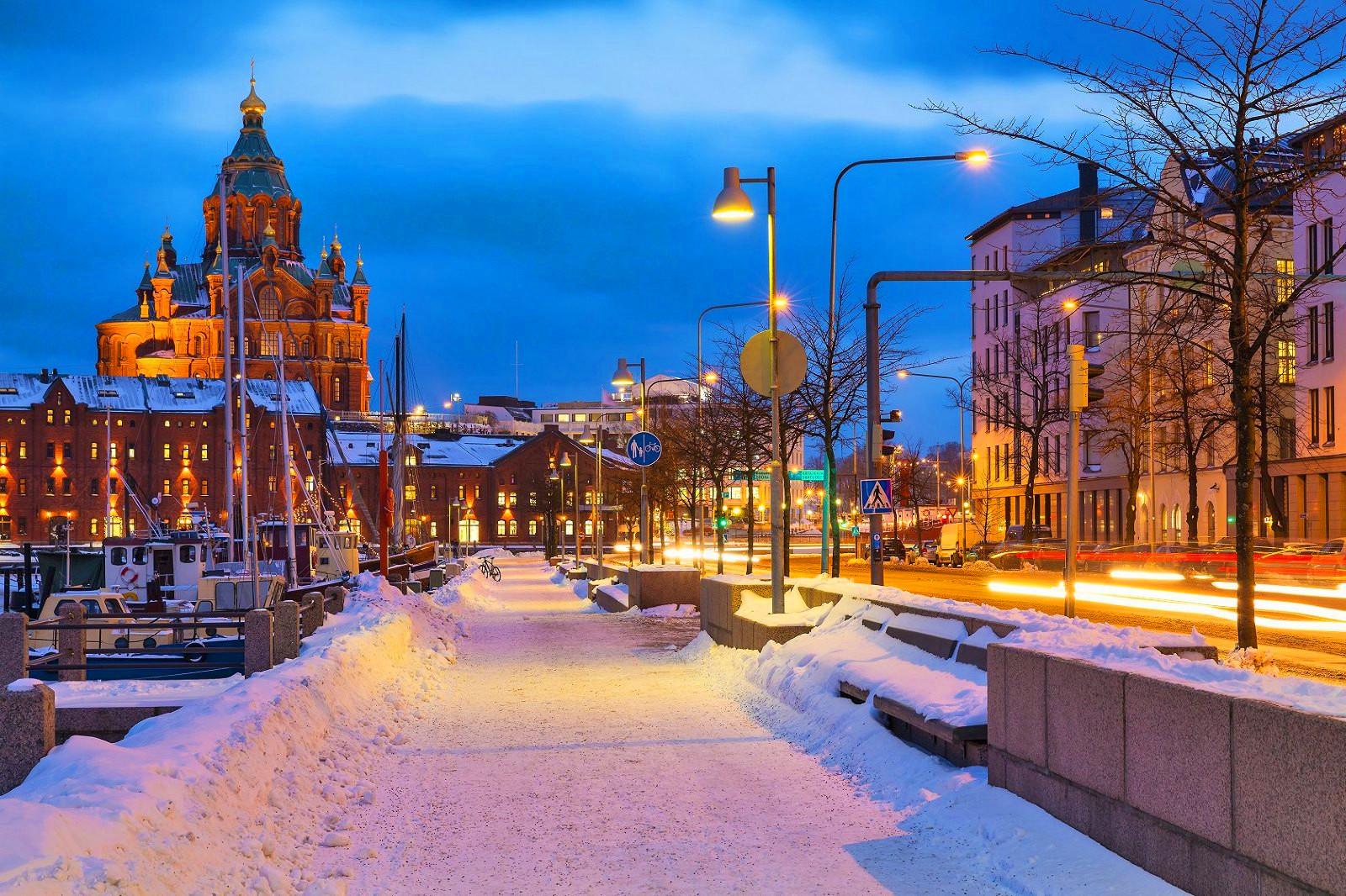北欧的冬天