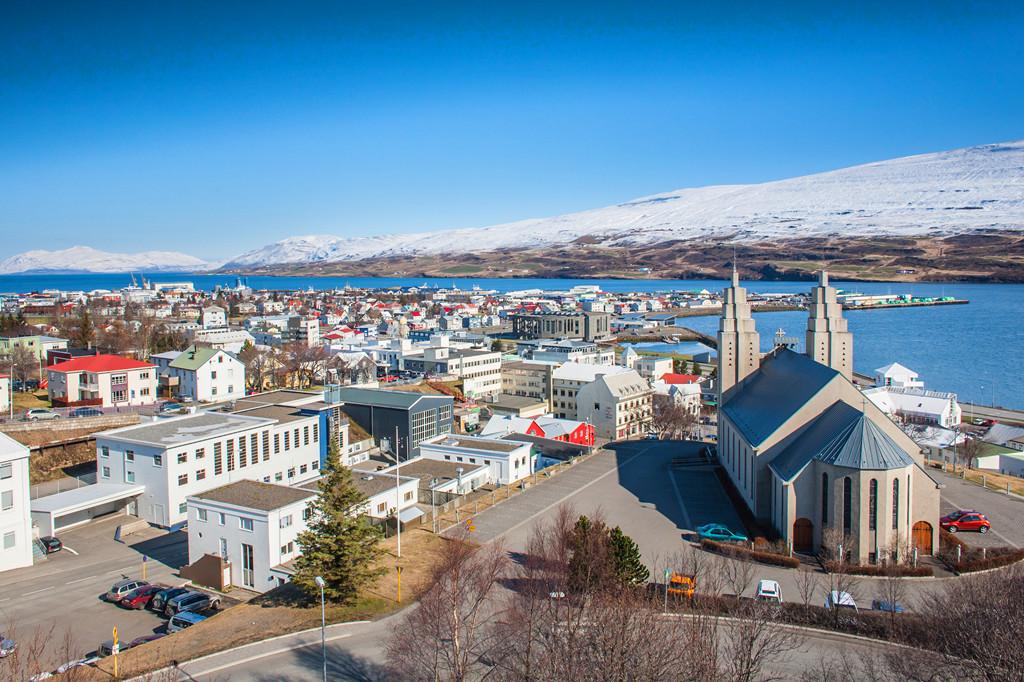 冰岛阿克雷里