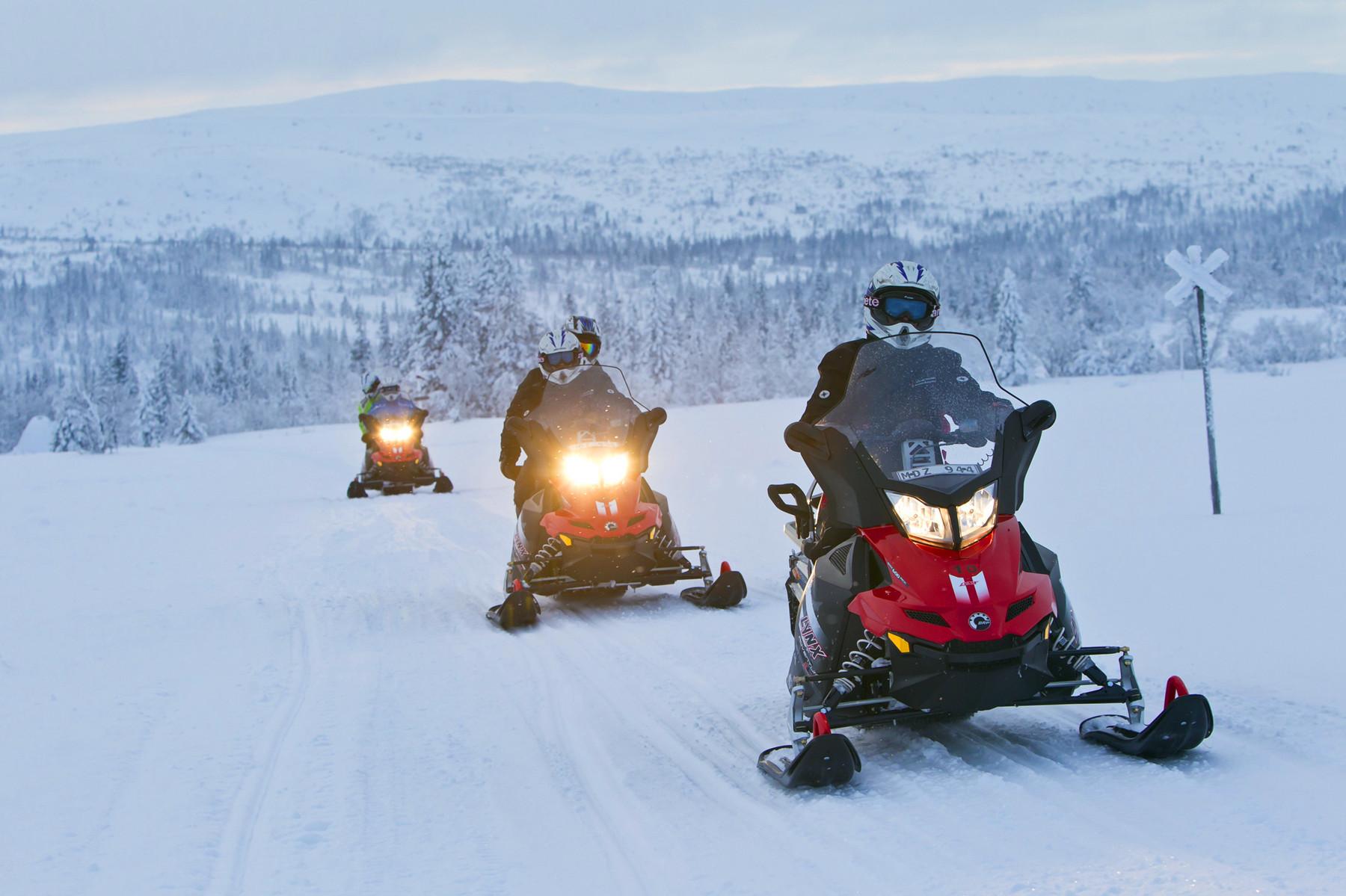 瑞典冰摩托