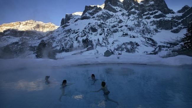 瑞士温泉旅游