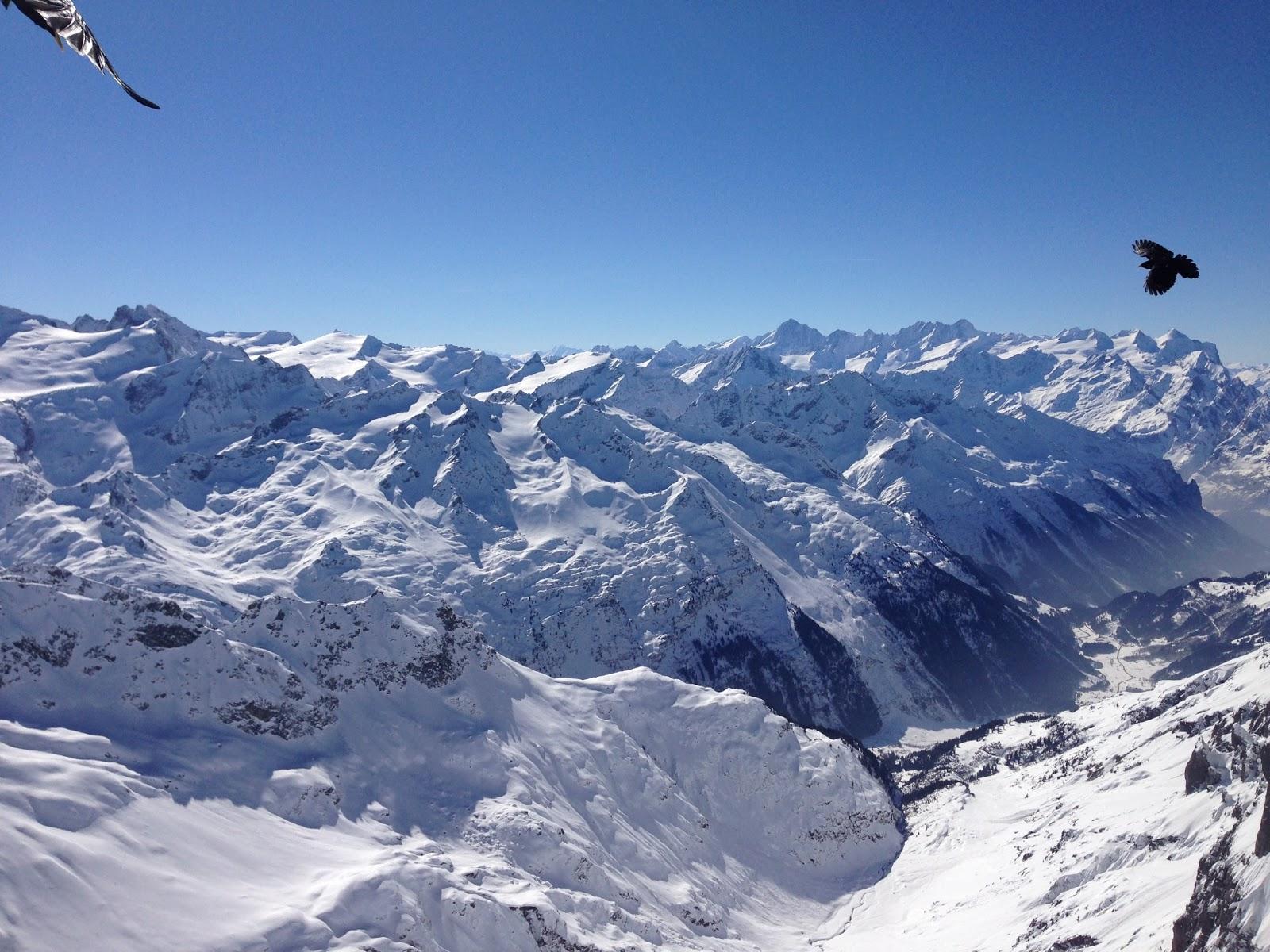 瑞士高端旅游_铁力士山