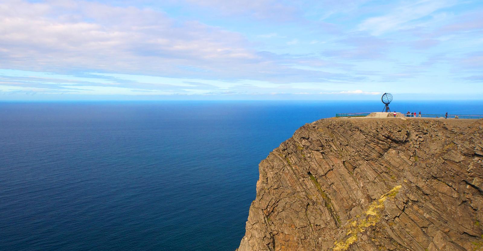 挪威北角风景