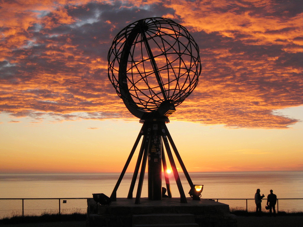 挪威北角旅游
