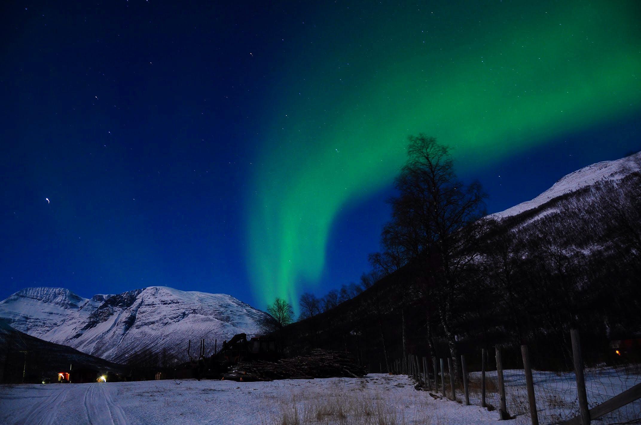 挪威北极光