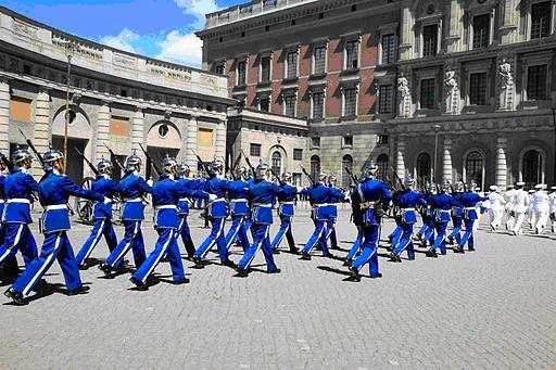 qq斯德哥尔摩——皇宫卫兵换岗仪式