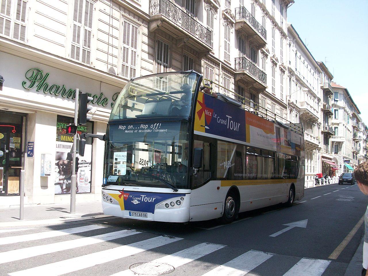 法国尼斯巴士游