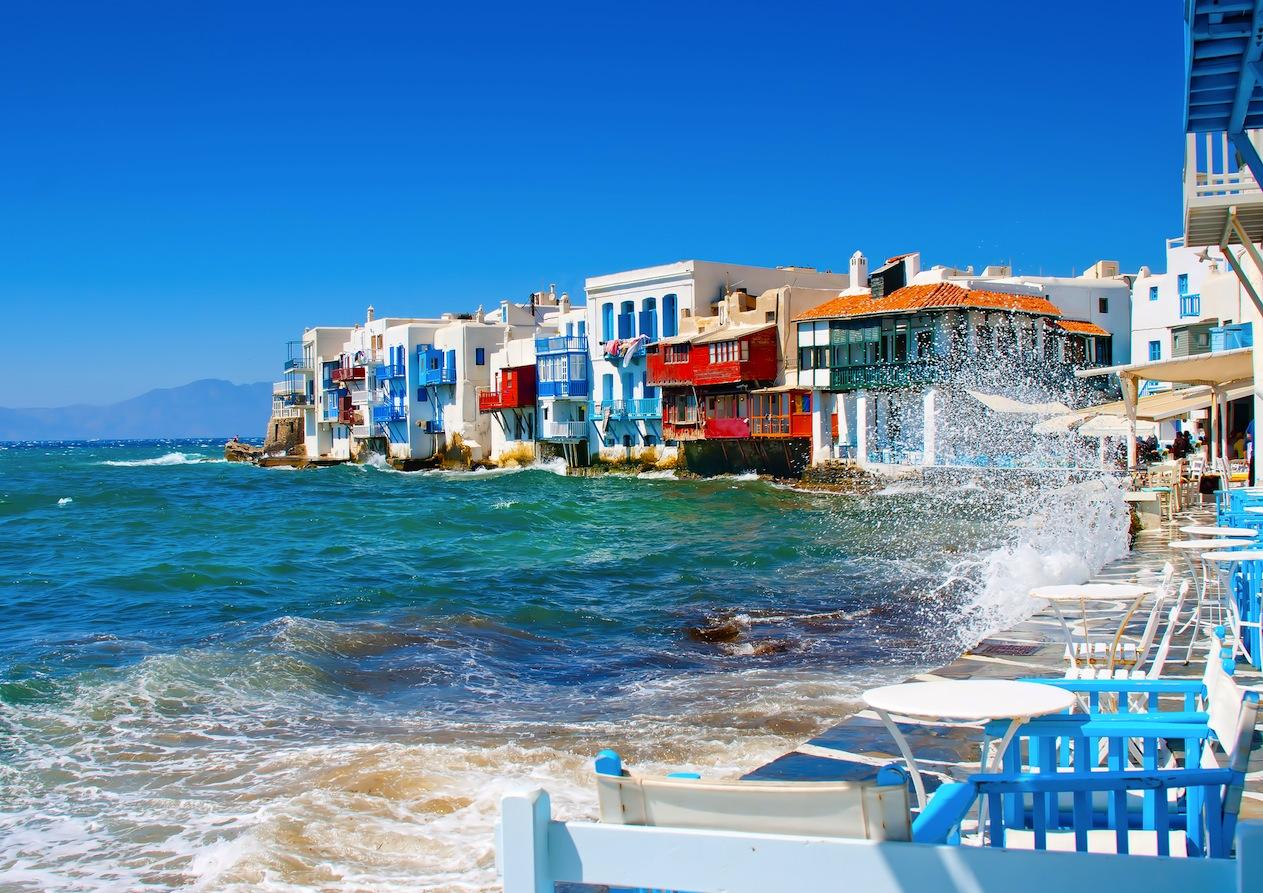 希腊浪漫之旅米克诺斯岛