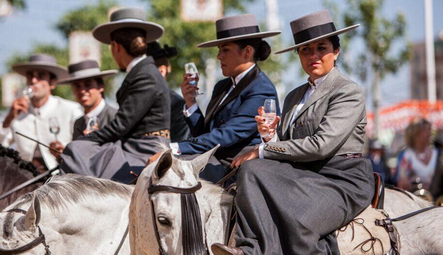 西班牙四月节男士着装