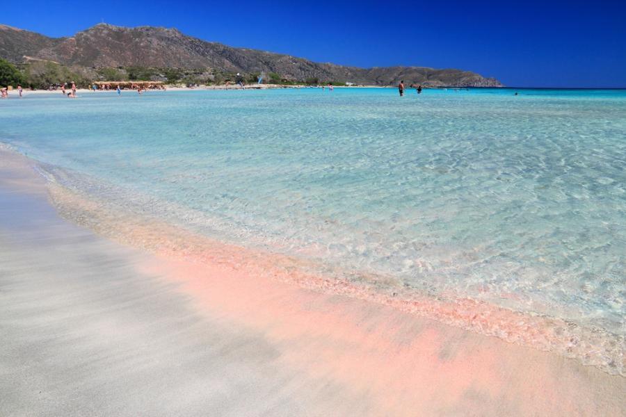 克里特粉色沙滩
