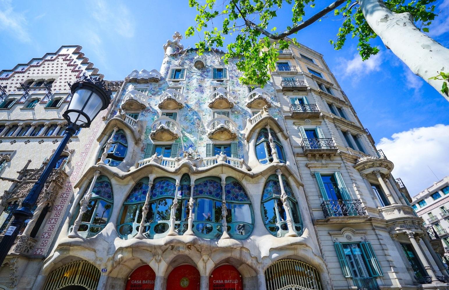 巴塞罗那,高迪建筑