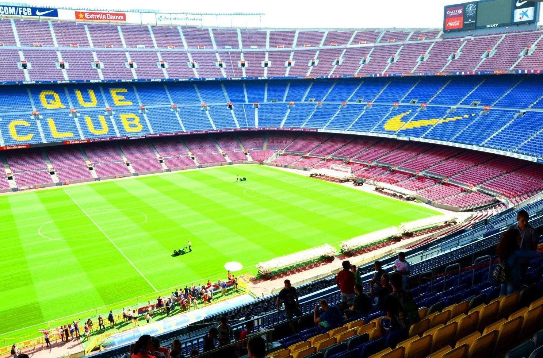 巴塞罗那,足球场