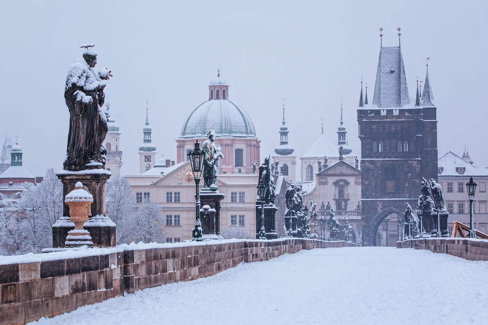 布拉格冬季旅游