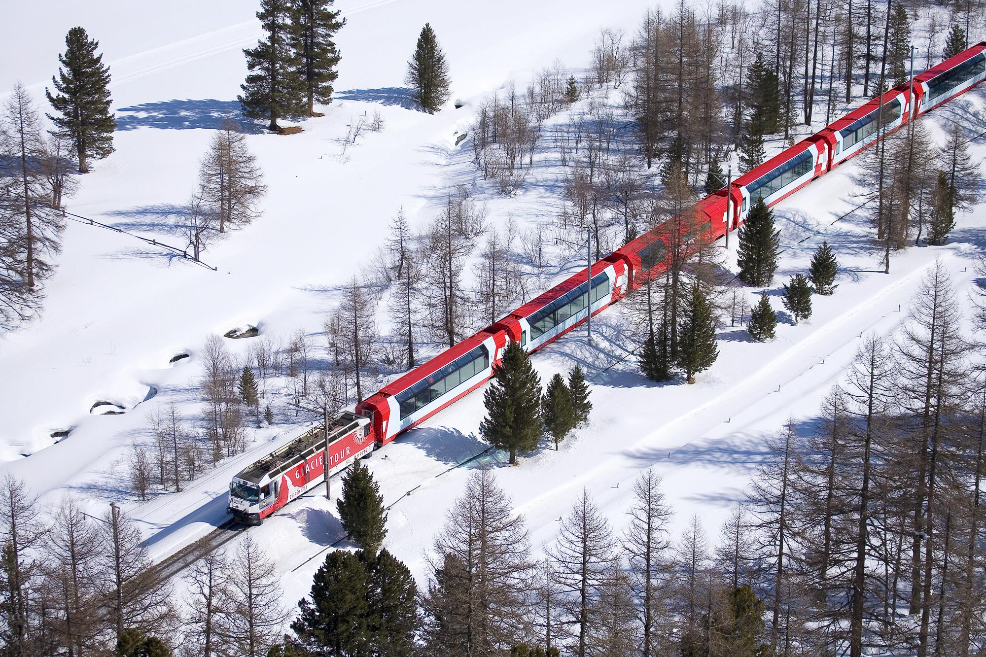 瑞士冰川快线